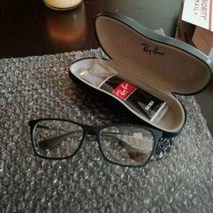 New Ray-Bans (clear frame)